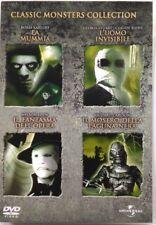 Dvd Classic Monsters Collection - cofanetto box 4 dischi Usato