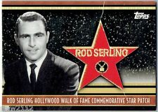 2011 TOPPS AMERICAN PIE ROD SERLING HOLLYWOOD WALK FAME PATCH TWILIGHT ZONE /50