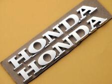 Moto Racing Silver Emblem Badge Decal Sticker 3D ABS 15CM for Honda Tank Fairing