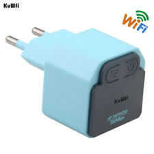 Kuwfi 300Mbps Wireless Wifi Repeater 2.4Ghz Ap Router 802.11N Wi-Fi Signal A 649