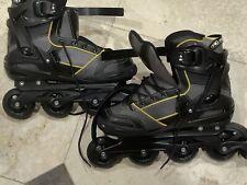 Roller Derby AERIO Q-60 Gold 7 Mens Roller Derby Skates Size 11 Black Yellow