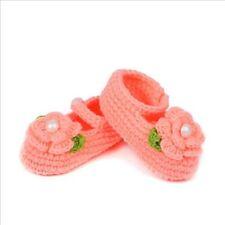 Slipper Casual Baby Infant Prewalker Crochet Newborn Shoes Knit Crib Socks
