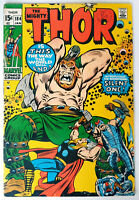 Thor #184 Bronze Age Marvel Comics 1st Appearance of Infinity F-