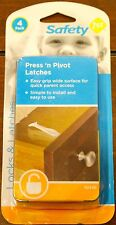 Safety 1st Press n' Pivot Latches (Set of 4) Children Protection