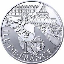 Pièce de 10 euros en argent de la région Ile-de-France - Euro des régions 2011