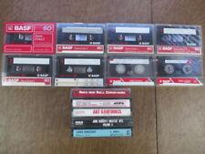 Lot of 8 Cassette Tapes Basf Ferro Extra + 5 bonus cassettes 1 new xz14
