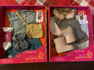 "Our Generation Outfit 2 Set Pack!  New In Box! for most 18""H Dolls"