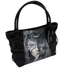 Sullen Clothing Catrina Black Gathered Handbag Purse
