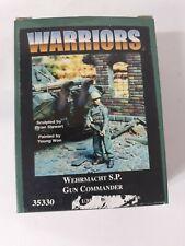 WARRIORS Wehrmacht S.P. Gun Commander 1:35 Scale Resin Figure Item #35330