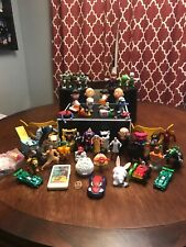 52 LOT OF MCDONALDS HAPPY MEAL TOYS WITH A FEW BURGER KING