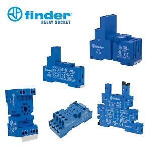 Finder 90.02, 93.01.7.024, 94.04, 94.74, 95.05 Relay Socket