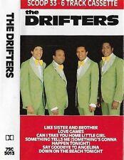 The Drifters Scoop 33: 6 Track CASSETTE EP SOUL Rhythm & Blues, Pop