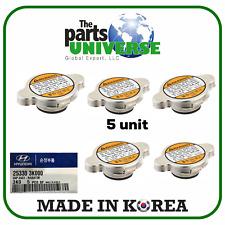 GENUINE (5 UNIT) For Hyundai Radiator Cap 25330-3K000 (1.1 LBS)