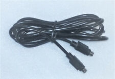 DISH NETWORK S-VIDEO S-VHS HDTV  4 PIN MALE CABLE -- 8' ft long