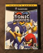 Sonic Heroes Nintendo GameCube ~ Good Condition! ~ Fastest Shipping! ~ LQQK