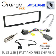 Renault Clio Megane Fitting Kit & Steering Wheel Adaptor CTSRN005.2 Alpine Lead