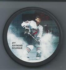 Ray Bourque  Boston Bruins  NHLPA Sport-Flash  -  Souvenir Photo Hockey Puck