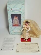 "Madame Alexander Classic Collection Roaring 20's Bride 5 1/2"" Figurine With COA"