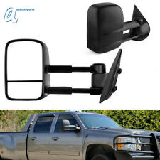 Towing Mirrors for 07-13 Chevy Silverado GMC Sierra 1500/2500/3500 Power Heated