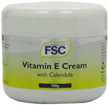FSC Vitamin E Cream With Calendula 100g 2 000iu Paraben Vegan