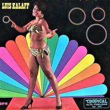 LUIS KALAFF - MI PALITO DE ORO - 1960 vinyl LP = VG++ Merengue CHEESECAKE RARE