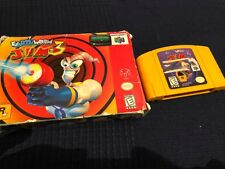 Earthworm Jim 3D (Nintendo 64, 1999) Original box and cartridge