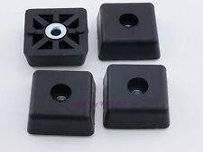 Set of 4 - Square Rubber Feet .590