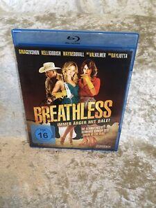 Blu Ray:    BREATHLESS     mit Gina Gershon und Val Kilmer   FSK 16