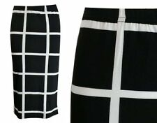 Unbranded Checked Casual Plus Size Skirts for Women