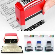 DIY Rubber Stamp Kit Inking Business Address Garage Name Etc Personalised  Print