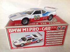 POLISTIL N° SN04: BMW M1 PRO-CAR 1/25. NEUVE EN BOITE