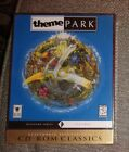 1997 Ea Presents Cd-rom Classics Theme Park Computer Game Ms-dos New Sealed