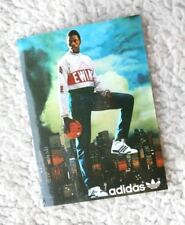 PATRICK EWING ADIDAS COMMERCIAL STICKER (ADHESIVE ADVERTISING, NO POSTER). 80´S!