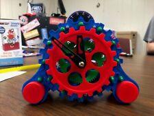 Kid's Rotating Gear Design Nightstand Alarm Clock for Children, 5 1/2 Inch N.G.