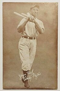 ANDY PAFKO 1939 EXHIBIT SALUTATIONS YOURS TRULY CARD VINTAGE 5 - EX CHICAGO CUBS