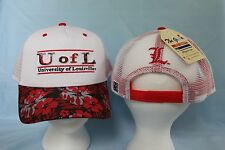 LOUISVILLE CARDINALS Tiki Bar Snapback CAP/HAT One Size Fits Most NWT $25 retail