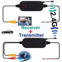 Émetteur et récepteur vidéo couleur sans fil 2.4G pour vue de recul de la v _ft