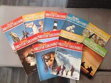 Set of 11 VINTAGE Beautiful British Columbia magazines 1968-73