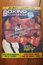 Vintage BOXING ILLUSTRATED Magazine Oct 1976 ALI NORTON SPECIAL Very Good Cond.