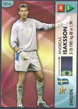 PANINI FIFA WORLD CUP-GOAAL 2006- #012-SWEDEN-ANDREAS ISAKSSON