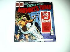 Gi Joe:  The Secret of the Mummy's Tomb Book and Record
