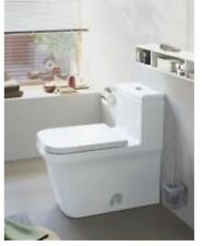 Duravit 0020590000 P3 Comforts Modern Contemporary Elongated Toilet Seat Cover
