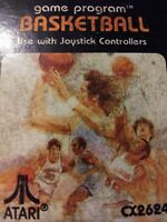 Basketball for Atari 2600 VINTAGE EXCELLENT CONDITION FREE SHIPPING