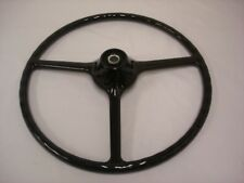 1948 - 1952 Ford Pickup Truck Steering Wheel Black F1 - For Original Column