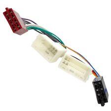 Adaptateur câble fiche ISO autoradio compatible Hyundai H1 i10 i20 ix35 Tucson
