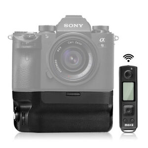 MEIKE MK-A9 Pro Battery Grip for Sony A9 A7R III Camera +2.4G Remote Controller