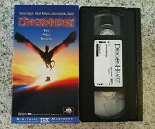 Dragon Heart Dennis Quaid Sean Connery VHS VideoTape