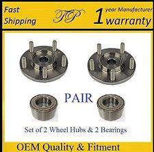 Front Wheel Hub & Bearing Kit For 2010-2013 HYUNDAI SONATA (L4 ENGINE) (PAIR)