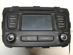 Audio Equipment Radio Receiver AM-FM-CD-MP3-satellite Fits 14-15 SORENTO 1386216