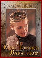 GAME OF THRONES - Season 5 - Card #72 - KING TOMMEN BARATHEON - Rittenhouse 2016
